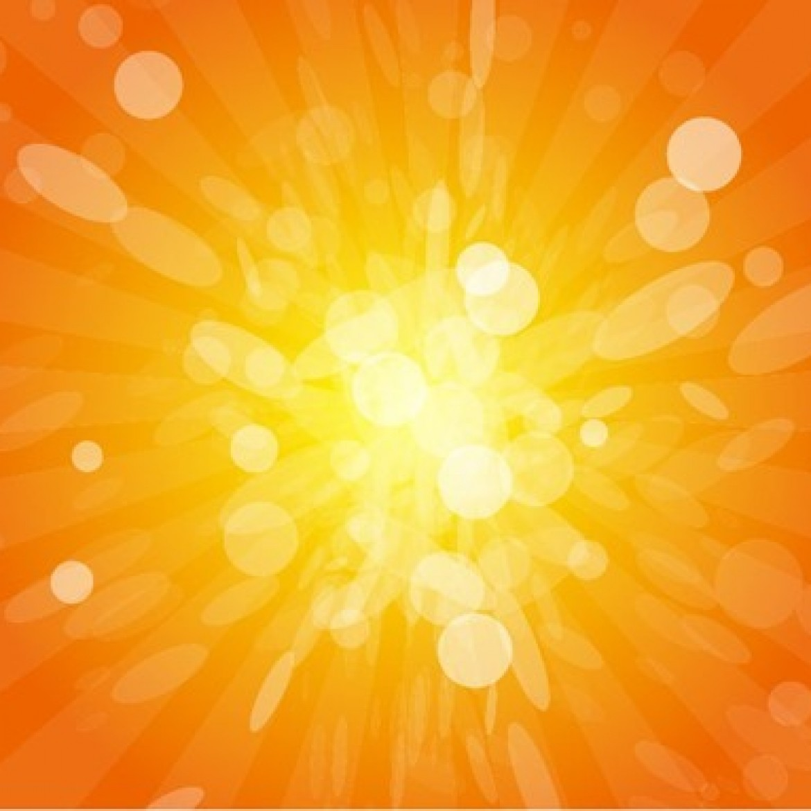 Free vector Sun Beams with Orange Yellow Blurred #6006