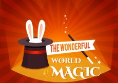 Free vector The wonderful world of magic #6116