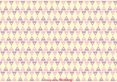 Free vector Triangle Girly Pattern Vector #8088