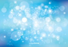 Free vector Beautiful Bokeh Glitter Background Illustration #8016