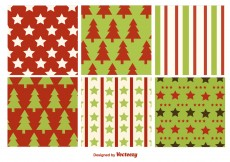Free vector Christmas Flat Textures #5174