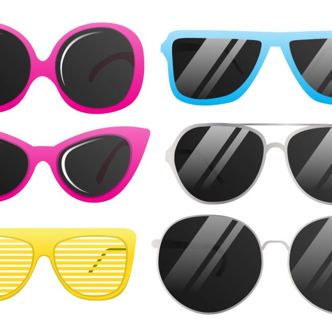 Cool vector sun glasses photos