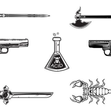 Free vector Free Elements that can kill you #9367