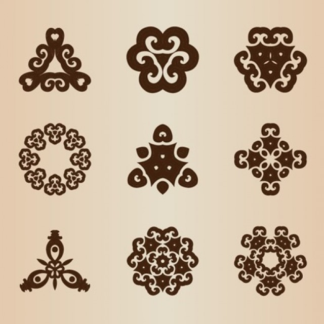 Free vector Vector Retro Style Design Elements #5358