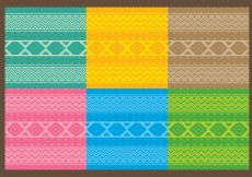 Free vector Textile Aztec Patterns #11083
