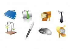 Free vector Various Item Icon Set #8700