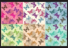 Free vector Vintage Butterfly Patterns #4929