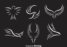 Free vector White Hawk Logo #12142