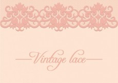Free vector Vintage lace background #7485