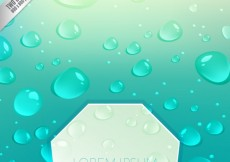 Free vector Water drops on glass #5572