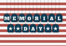 Free vector American memorial day background #13532