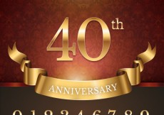 Free vector Anniversary background #13814