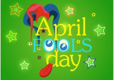 Free vector April Fool's Day Vector Background #17558