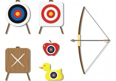 Free vector Archery and Target Vectors #17590