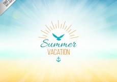 Free vector Background for summer vacation #16256