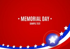 Free vector Background of memorial day #17666
