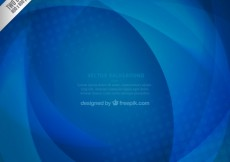 Free vector Blue background in abstract style #17554
