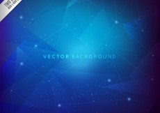 Free vector Blue constellations background #15918