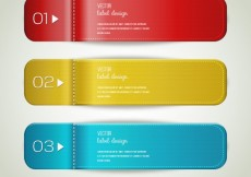 Free vector Bookmarks labels #17043