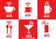 Free vector Cafe Wifi Symbol #18992