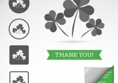 Free vector Clover icons  #19578
