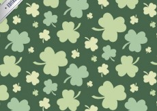 Free vector Clovers pattern #19706