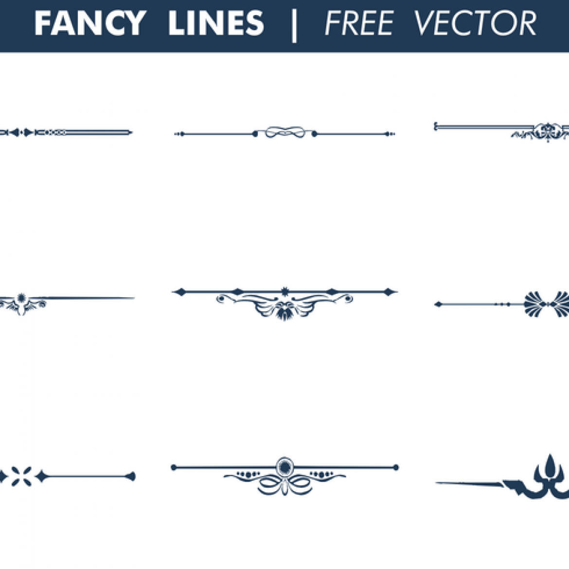 Vector Drawing Lines Game : Free vector decorative fancy lines my