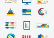 Free vector Elements of business infographic #18787