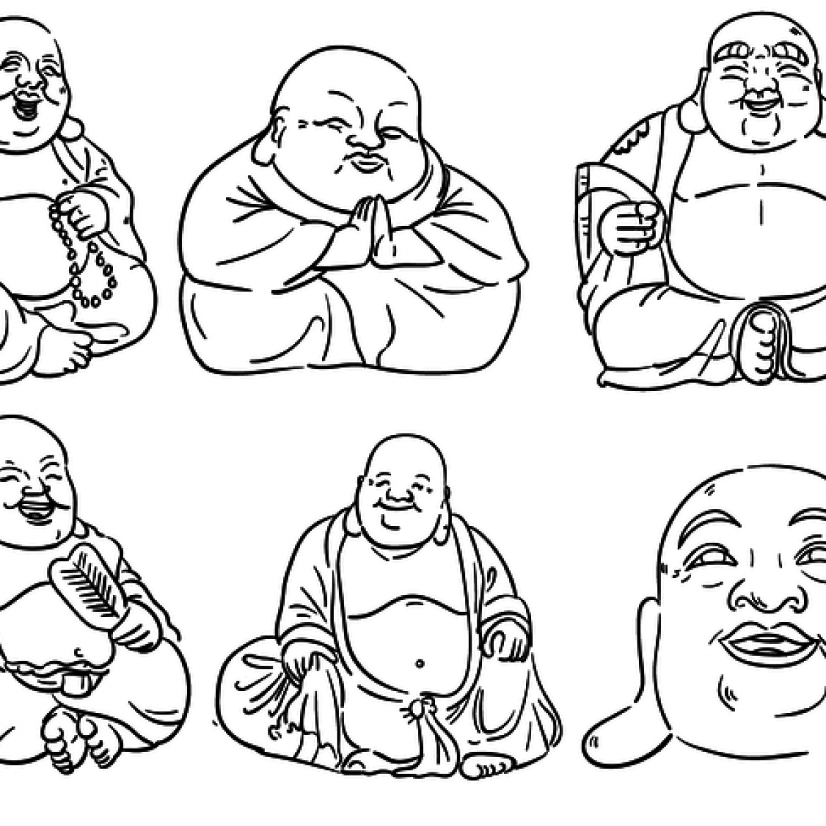Simple Buddha Vector | www.imgkid.com - The Image Kid Has It! Simple Buddha Drawing