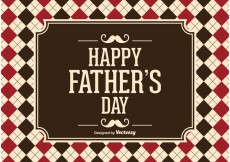 Free vector Father's Day Vector Illustration #19905
