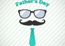 Free vector Fathers day background #17297