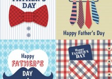 Free vector Fathers day cards #13952
