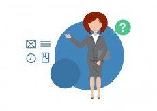 Free vector Free Administrative Assistant Illustration #14242
