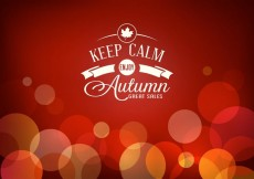Free vector Free Autumn Sale Vector Poster #13499