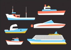 Free vector Free Collection of Ships #15117