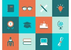 Free vector Free Education Vector Icons #18013