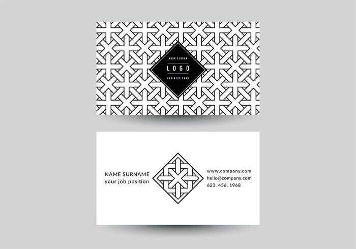 Free vector free geometric business card vector template 14117 free vector free geometric business card vector template 14117 my graphic hunt reheart Gallery