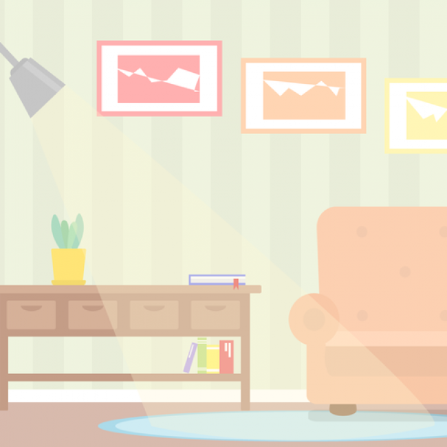 Free vector Free Living Room Vector #15604 | My Graphic Hunt