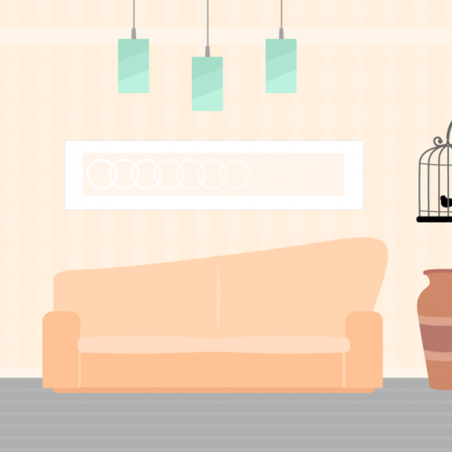 Free vector Free Living Room Vector #16761 | My Graphic Hunt