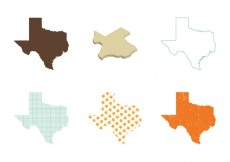 Free vector Free Texas Map Vector #14571