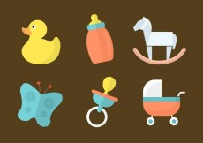 Free vector Free Vector Baby Toys #15111