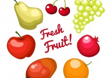 Free vector Fresh fruit! #13984