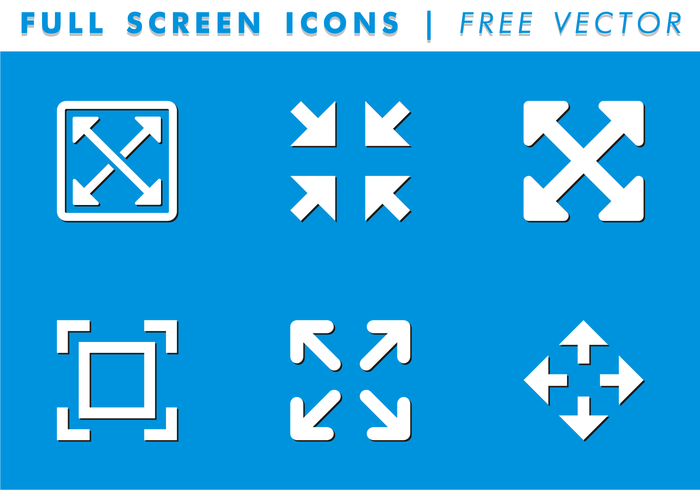 Full screen icon vector