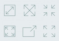 Free vector Full Screen Icons #15816