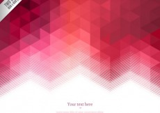 Free vector Geometrical background in red tones #18012