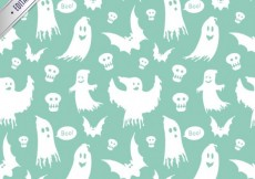 Free vector Ghost pattern #15854