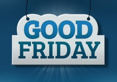 Free vector Good friday label #17654