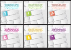 Free vector Keyboard Character Backgrounds #13223
