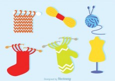 Free vector Knitting Icons #15297