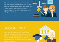 Free vector Law banners #17860